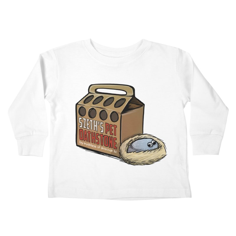 Zseth's Pet Oathstone Kids Toddler Longsleeve T-Shirt by Cory Kerr's Artist Shop (see more at corykerr.com)