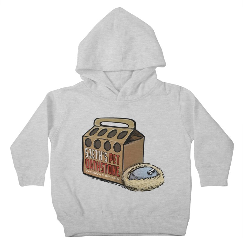 Zseth's Pet Oathstone Kids Toddler Pullover Hoody by Cory Kerr's Artist Shop (see more at corykerr.com)