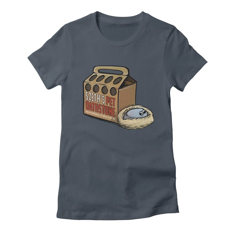 Zseth's Pet Oathstone Women's Fitted T-Shirt by Cory Kerr's Artist Shop (see more at corykerr.com)