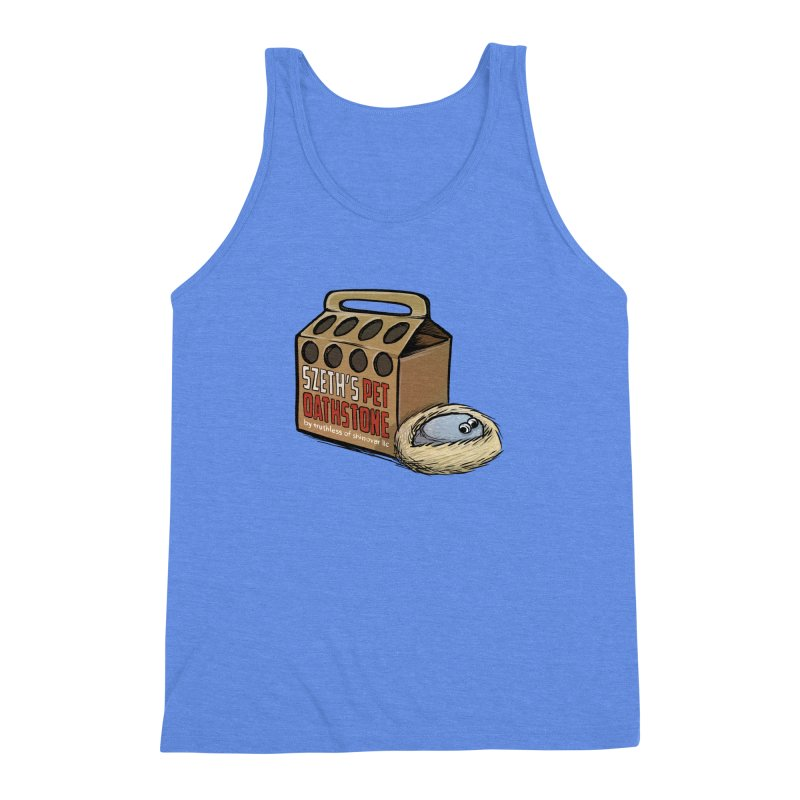 Zseth's Pet Oathstone Men's Triblend Tank by Cory Kerr's Artist Shop (see more at corykerr.com)