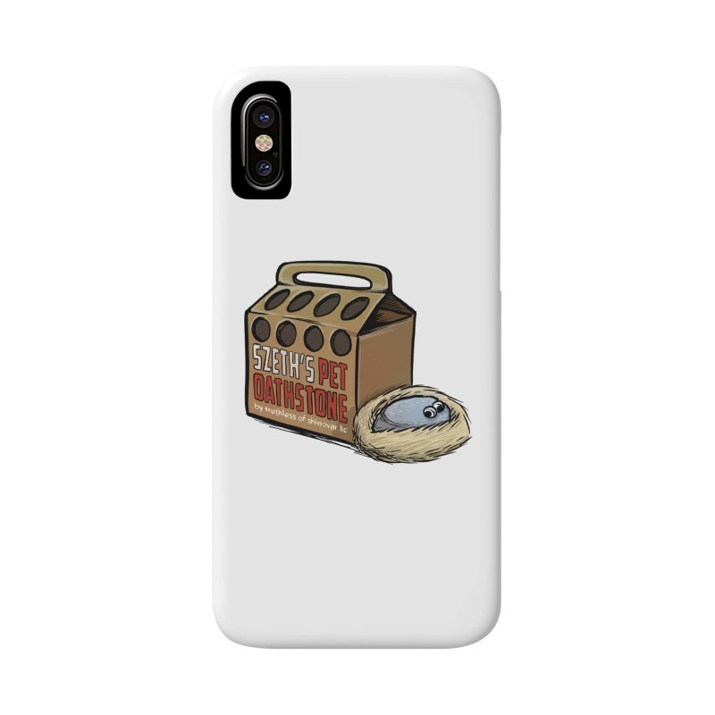 Zseth's Pet Oathstone Accessories Phone Case by Cory Kerr's Artist Shop (see more at corykerr.com)