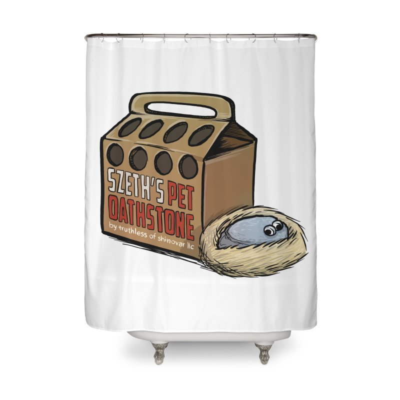 Zseth's Pet Oathstone Home Shower Curtain by Cory Kerr's Artist Shop (see more at corykerr.com)