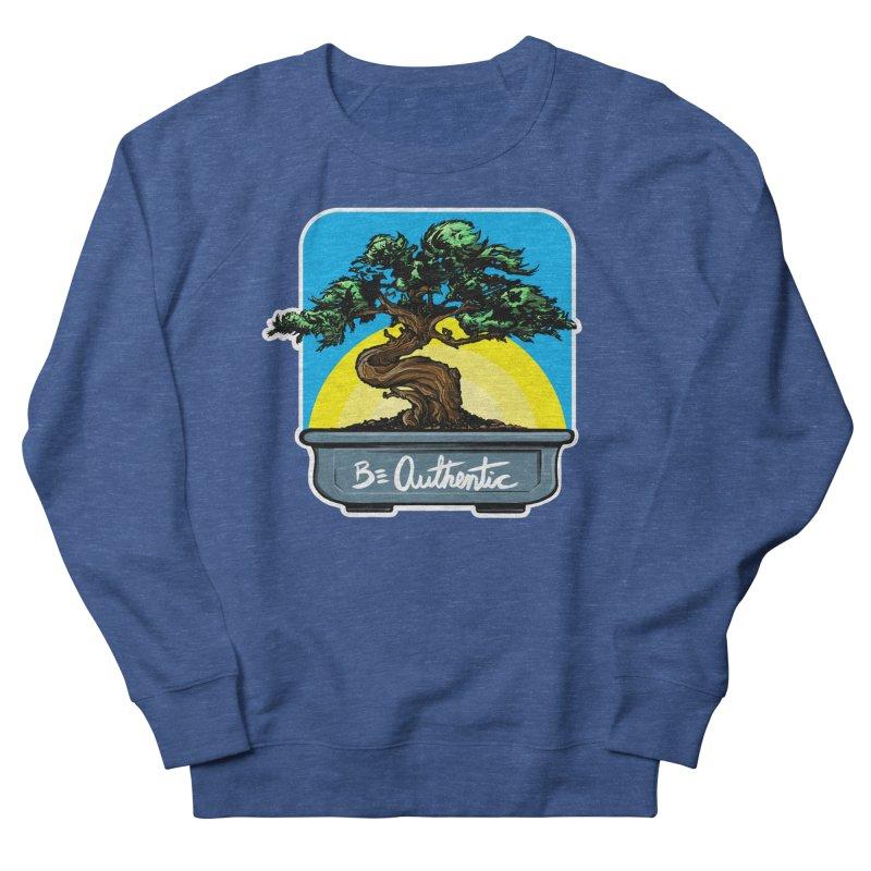 Bonsai: Be Authentic Men's Sweatshirt by Cory Kerr's Artist Shop (see more at corykerr.com)
