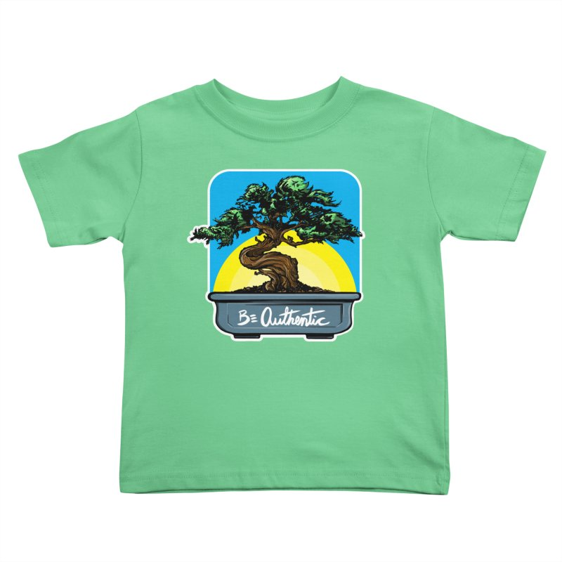 Bonsai: Be Authentic Kids Toddler T-Shirt by Cory Kerr's Artist Shop (see more at corykerr.com)