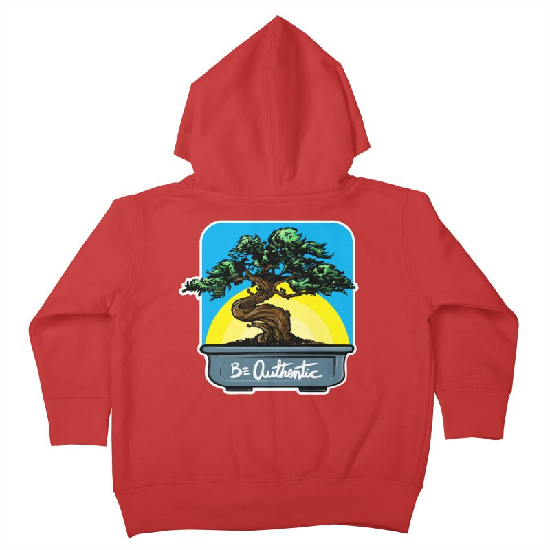 Bonsai: Be Authentic Kids Toddler Zip-Up Hoody by Cory Kerr's Artist Shop (see more at corykerr.com)
