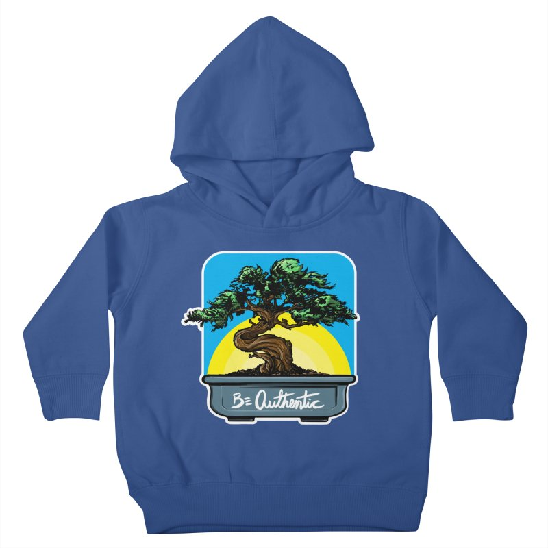 Bonsai: Be Authentic Kids Toddler Pullover Hoody by Cory Kerr's Artist Shop (see more at corykerr.com)