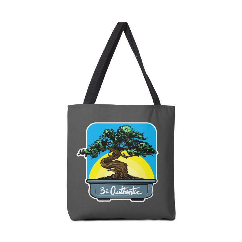 Bonsai: Be Authentic Accessories Bag by Cory Kerr's Artist Shop (see more at corykerr.com)