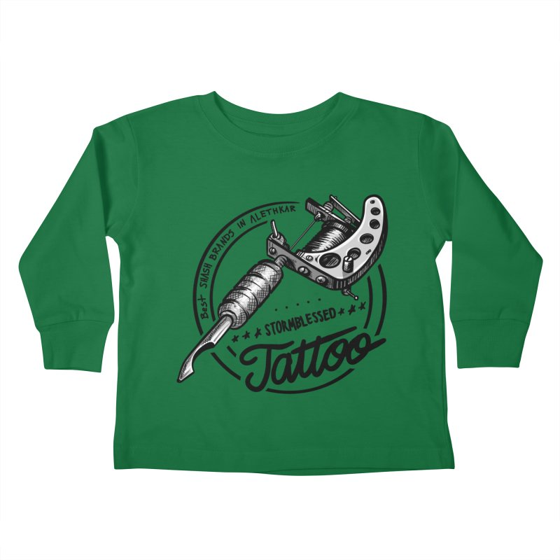 Stormblessed Tattoo Shop: best shash brand in alethkar Kids Toddler Longsleeve T-Shirt by Cory Kerr's Artist Shop (see more at corykerr.com)