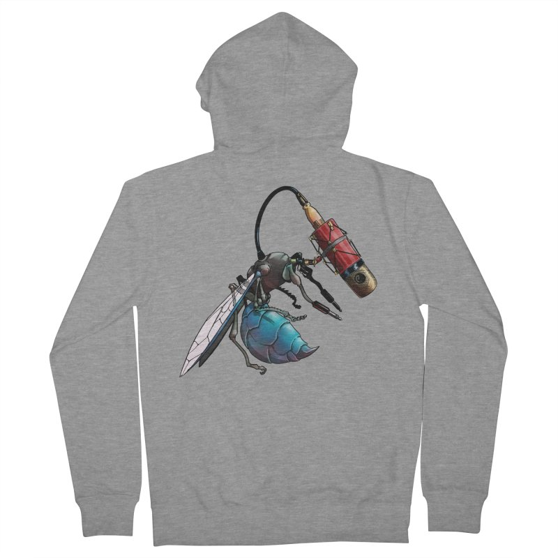 Sweep for Bugs Men's Zip-Up Hoody by Cory Kerr's Artist Shop (see more at corykerr.com)