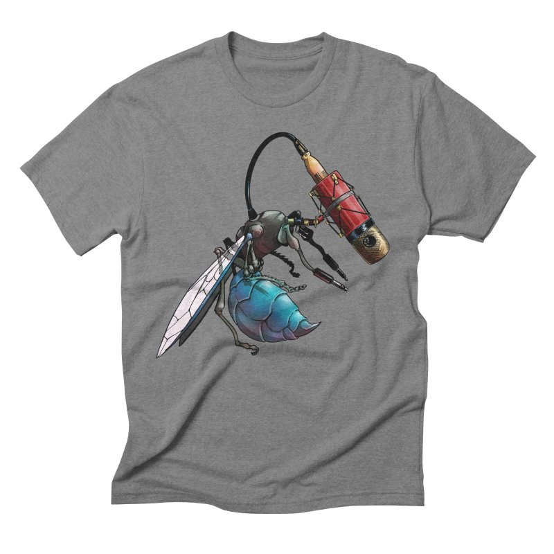 Sweep for Bugs Men's Triblend T-shirt by Cory Kerr's Artist Shop (see more at corykerr.com)