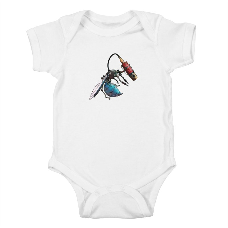 Sweep for Bugs Kids Baby Bodysuit by Cory Kerr's Artist Shop (see more at corykerr.com)