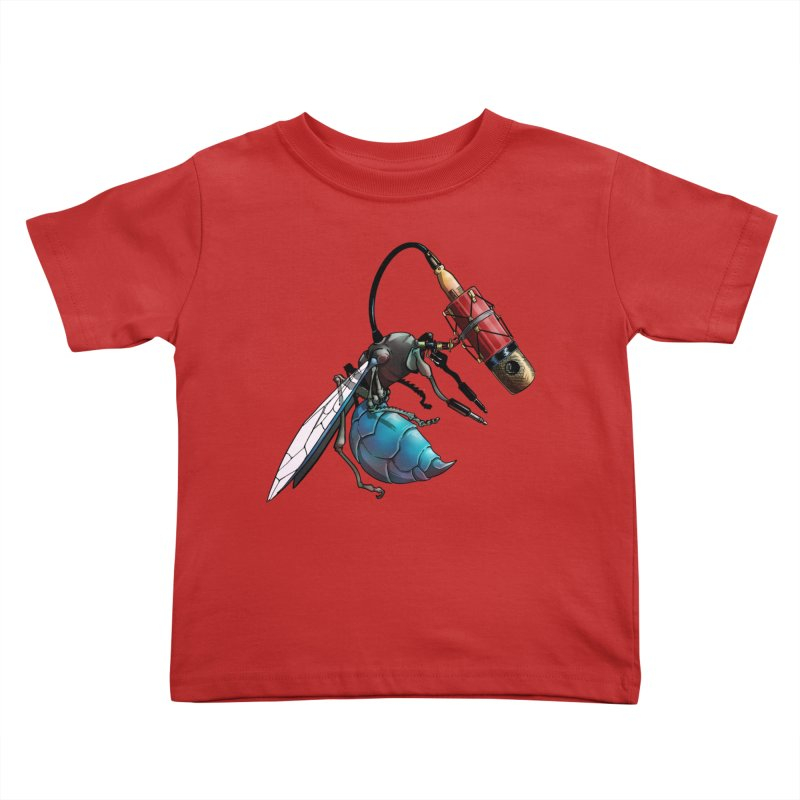 Sweep for Bugs Kids Toddler T-Shirt by Cory Kerr's Artist Shop (see more at corykerr.com)