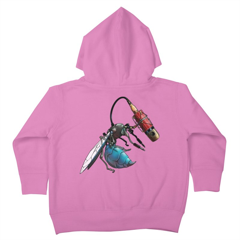 Sweep for Bugs Kids Toddler Zip-Up Hoody by Cory Kerr's Artist Shop (see more at corykerr.com)