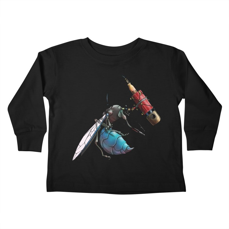 Sweep for Bugs Kids Toddler Longsleeve T-Shirt by Cory Kerr's Artist Shop (see more at corykerr.com)