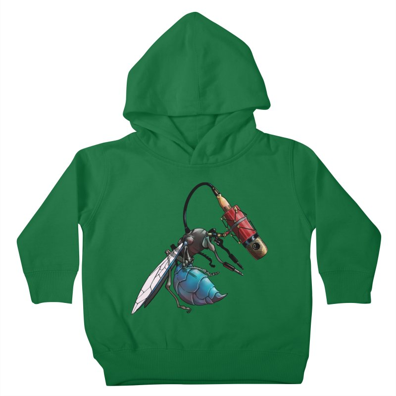 Sweep for Bugs Kids Toddler Pullover Hoody by Cory Kerr's Artist Shop (see more at corykerr.com)