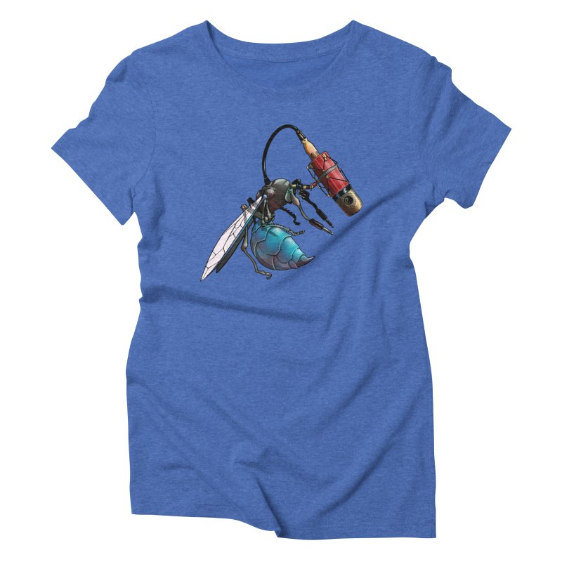 Sweep for Bugs Women's Triblend T-shirt by Cory Kerr's Artist Shop (see more at corykerr.com)
