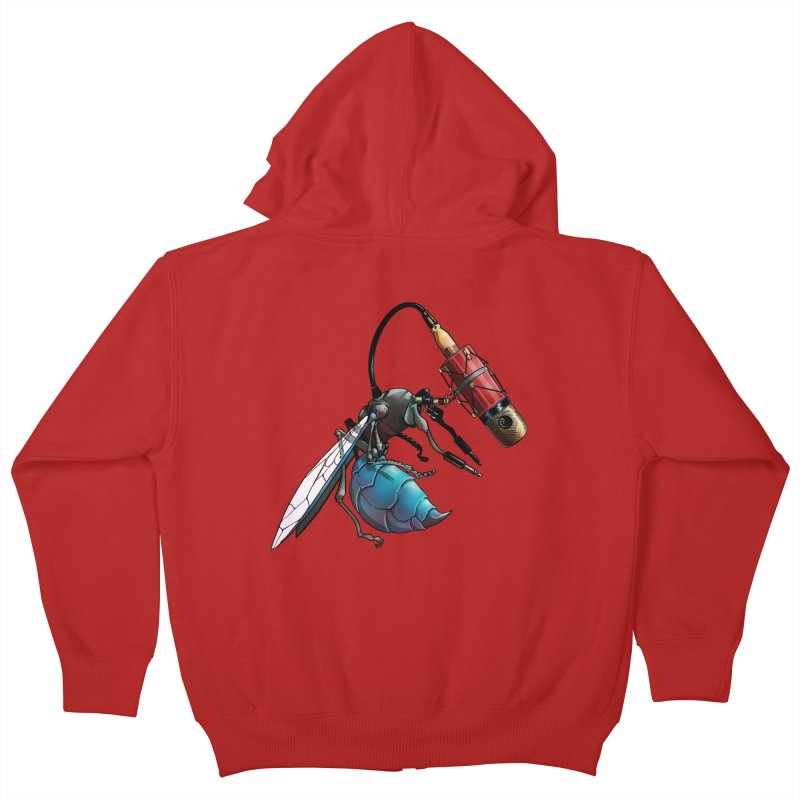 Sweep for Bugs Kids Zip-Up Hoody by Cory Kerr's Artist Shop (see more at corykerr.com)