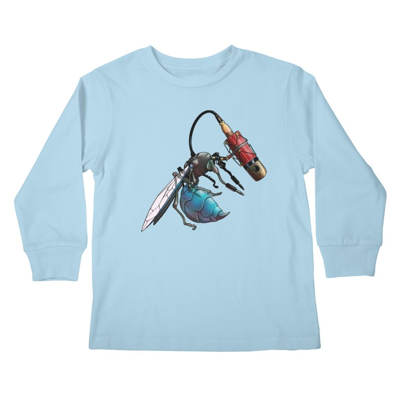Sweep for Bugs Kids Longsleeve T-Shirt by Cory Kerr's Artist Shop (see more at corykerr.com)