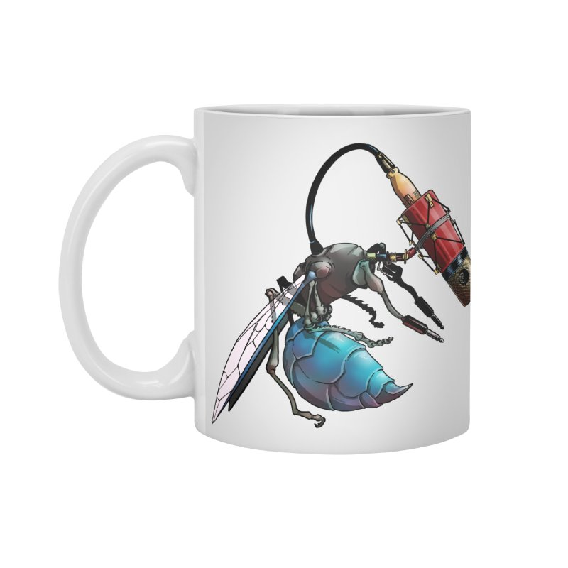 Sweep for Bugs Accessories Mug by Cory Kerr's Artist Shop (see more at corykerr.com)