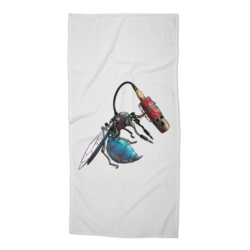 Sweep for Bugs Accessories Beach Towel by Cory Kerr's Artist Shop (see more at corykerr.com)