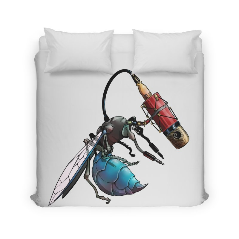 Sweep for Bugs Home Duvet by Cory Kerr's Artist Shop (see more at corykerr.com)