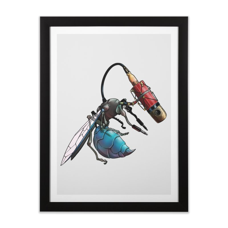 Sweep for Bugs Home Framed Fine Art Print by Cory Kerr's Artist Shop (see more at corykerr.com)