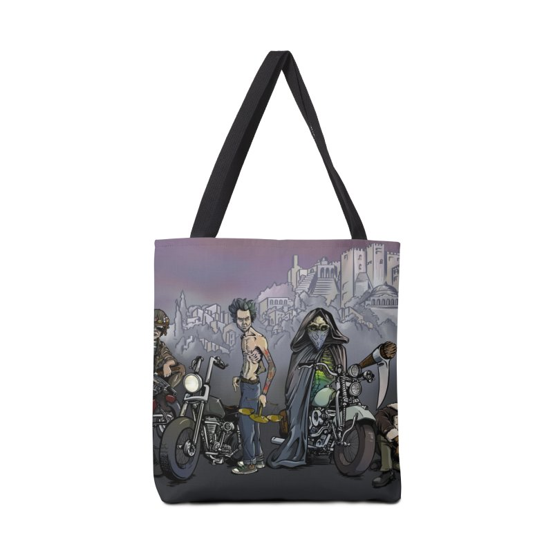 Four Riders of the Apocalypse Accessories Bag by Cory Kerr's Artist Shop (see more at corykerr.com)