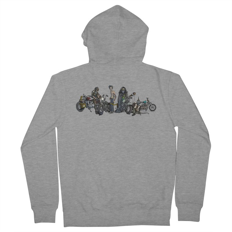 On Steel Horses... Women's Zip-Up Hoody by Cory Kerr's Artist Shop (see more at corykerr.com)