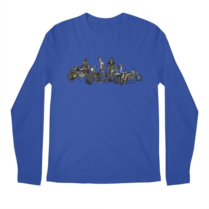 On Steel Horses... Men's Longsleeve T-Shirt by Cory Kerr's Artist Shop (see more at corykerr.com)