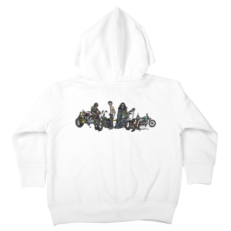 On Steel Horses... Kids Toddler Zip-Up Hoody by Cory Kerr's Artist Shop (see more at corykerr.com)