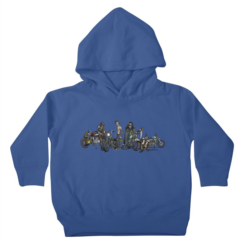 On Steel Horses... Kids Toddler Pullover Hoody by Cory Kerr's Artist Shop (see more at corykerr.com)