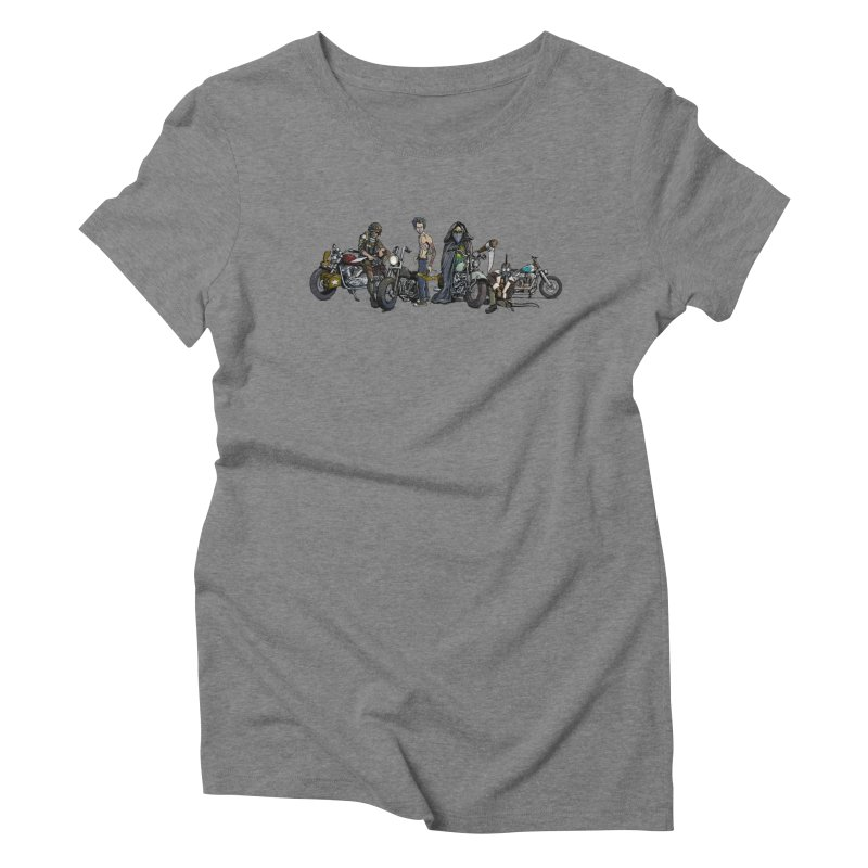 On Steel Horses... Women's Triblend T-shirt by Cory Kerr's Artist Shop (see more at corykerr.com)