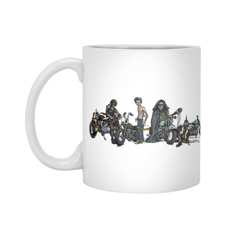 On Steel Horses... Accessories Mug by Cory Kerr's Artist Shop (see more at corykerr.com)