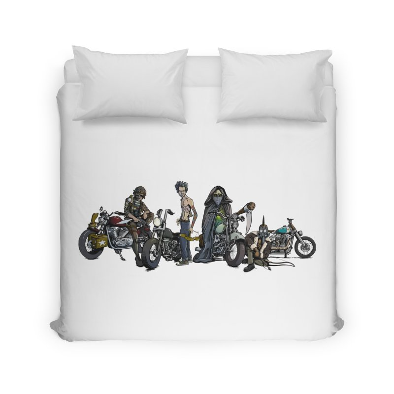On Steel Horses... Home Duvet by Cory Kerr's Artist Shop (see more at corykerr.com)