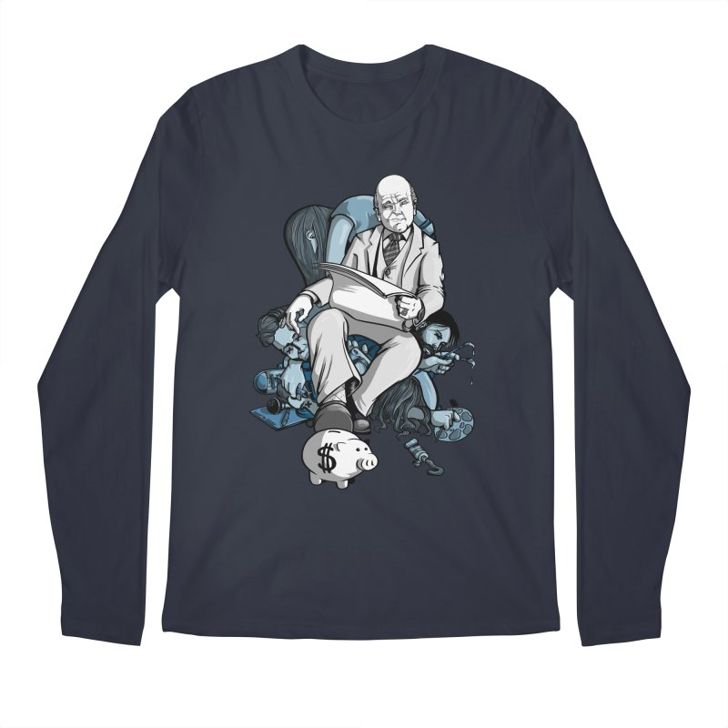 muted: Benefits of Exposure Men's Longsleeve T-Shirt by Cory Kerr's Artist Shop (see more at corykerr.com)