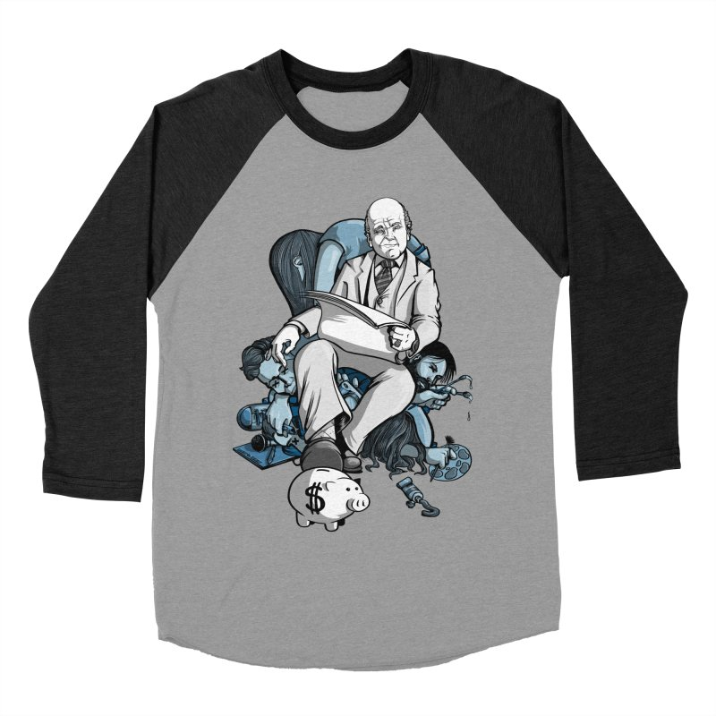 muted: Benefits of Exposure Men's Baseball Triblend T-Shirt by Cory Kerr's Artist Shop (see more at corykerr.com)