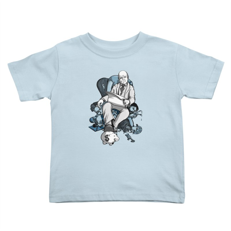 muted: Benefits of Exposure Kids Toddler T-Shirt by Cory Kerr's Artist Shop (see more at corykerr.com)