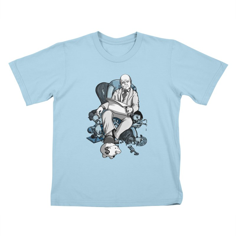 muted: Benefits of Exposure Kids T-Shirt by Cory Kerr's Artist Shop (see more at corykerr.com)