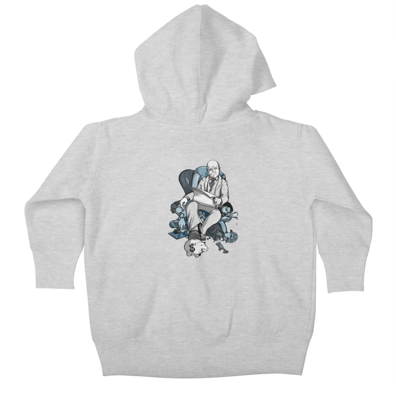 muted: Benefits of Exposure Kids Baby Zip-Up Hoody by Cory Kerr's Artist Shop (see more at corykerr.com)