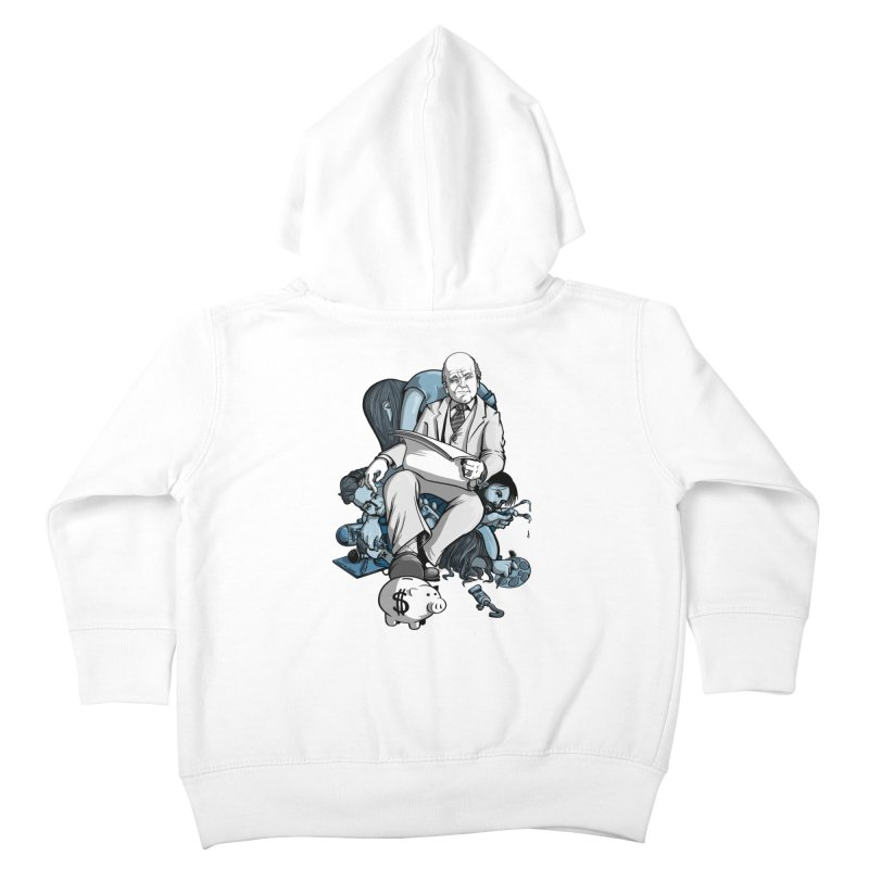 muted: Benefits of Exposure Kids Toddler Zip-Up Hoody by Cory Kerr's Artist Shop (see more at corykerr.com)
