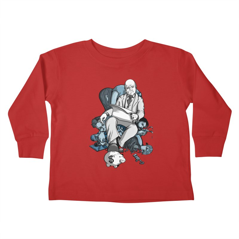 muted: Benefits of Exposure Kids Toddler Longsleeve T-Shirt by Cory Kerr's Artist Shop (see more at corykerr.com)