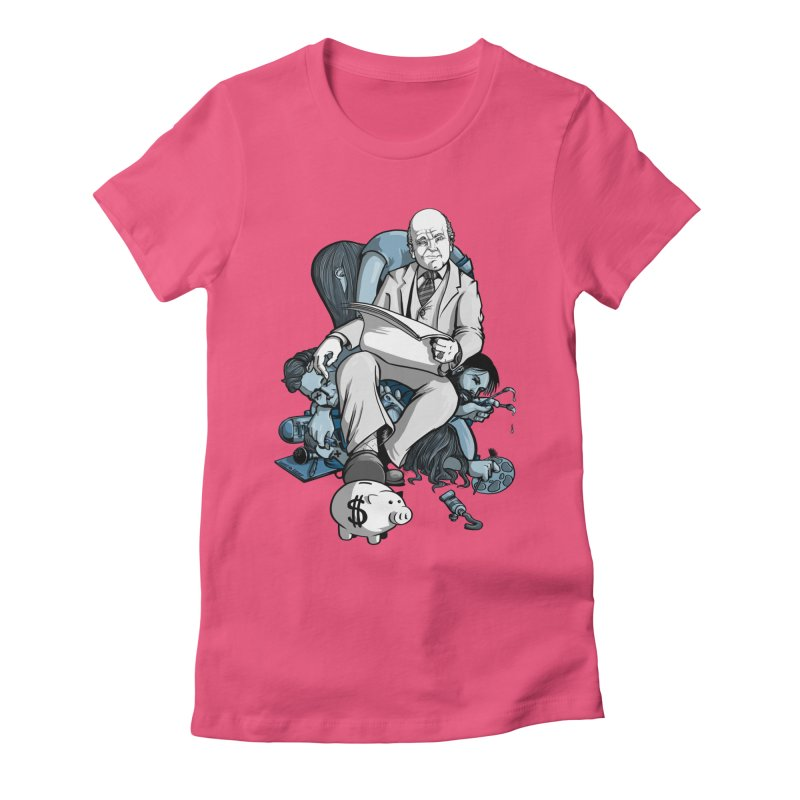 muted: Benefits of Exposure Women's Fitted T-Shirt by Cory Kerr's Artist Shop (see more at corykerr.com)