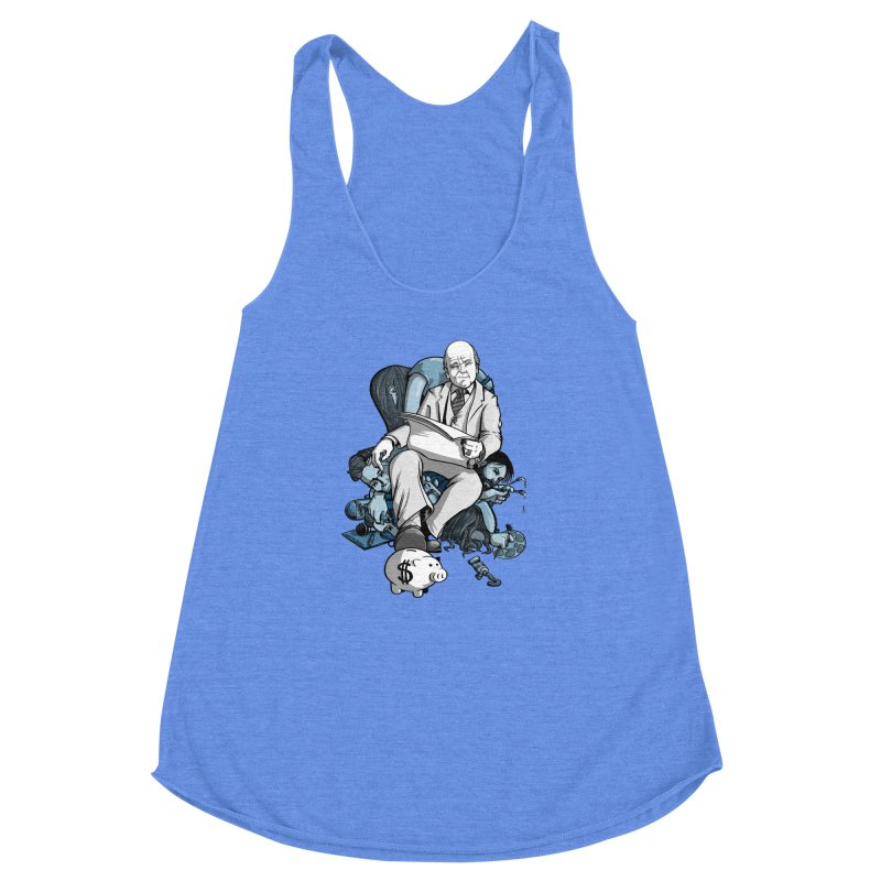 muted: Benefits of Exposure Women's Racerback Triblend Tank by Cory Kerr's Artist Shop (see more at corykerr.com)