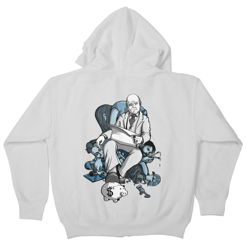 muted: Benefits of Exposure Kids Zip-Up Hoody by Cory Kerr's Artist Shop (see more at corykerr.com)