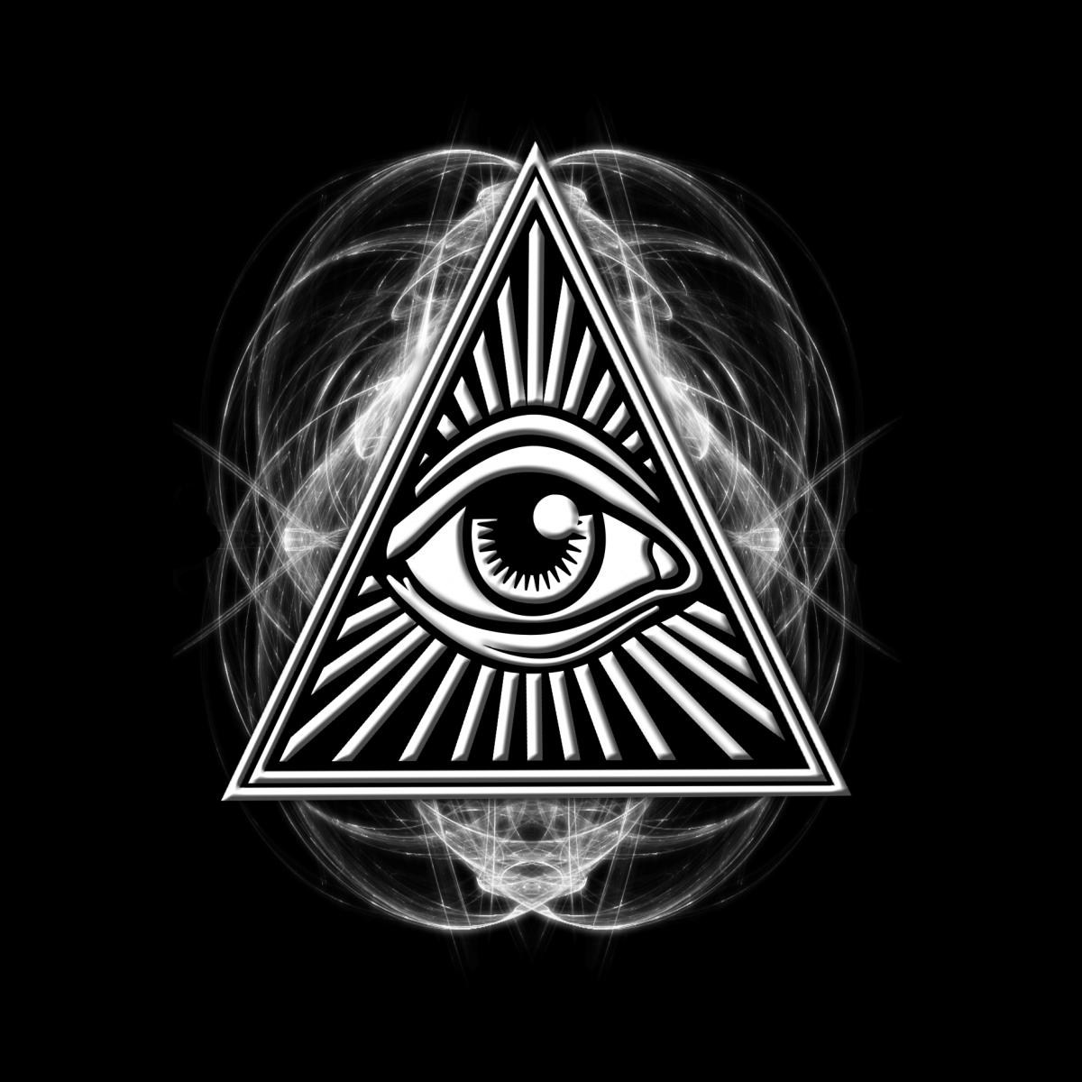 внешний вид картинки всевидящего ока все потому, что
