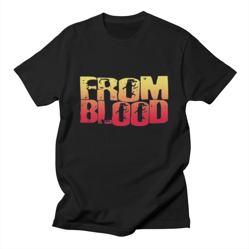 From Blood Logo Men's T-Shirt by Cosmic Times's Artist Shop