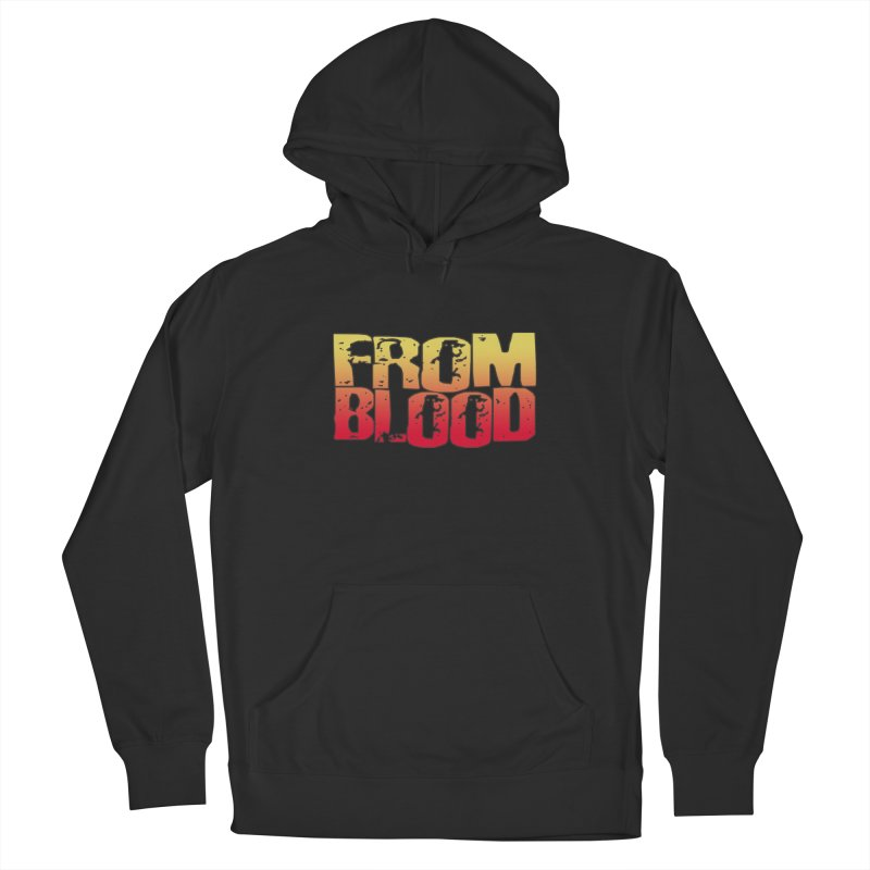From Blood Logo Men's Pullover Hoody by Cosmic Times's Artist Shop