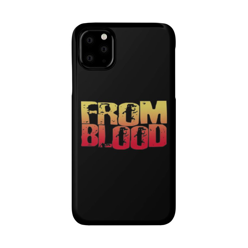From Blood Logo Accessories Phone Case by Cosmic Times's Artist Shop