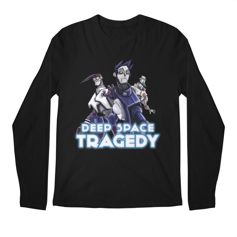 Deep Space Tragedy Logo Men's Regular Longsleeve T-Shirt by Cosmic Times's Artist Shop