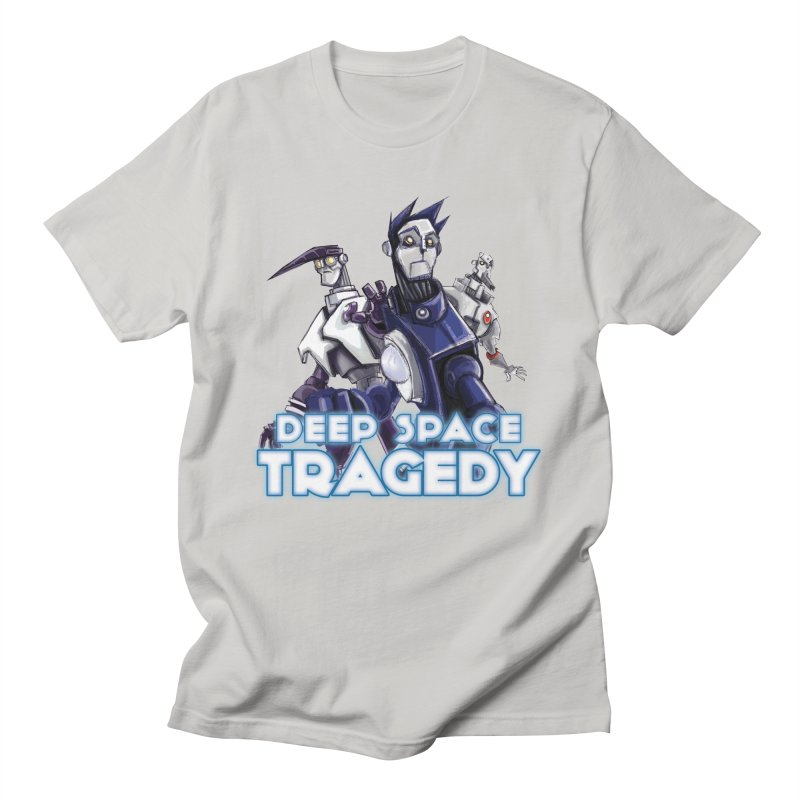 Deep Space Tragedy Logo Men's Regular T-Shirt by Cosmic Times's Artist Shop